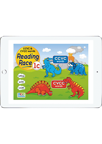 Two Player Reading 1c - ccvc and cvcc words