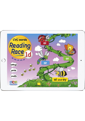 Reading race 1d - ar, ai words