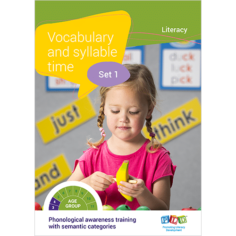 Vocabulary and syllable time - Set 2