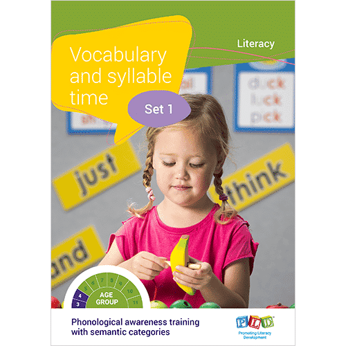 Vocabulary and syllable time - Set 1