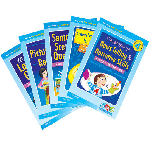 Early years oral language pack