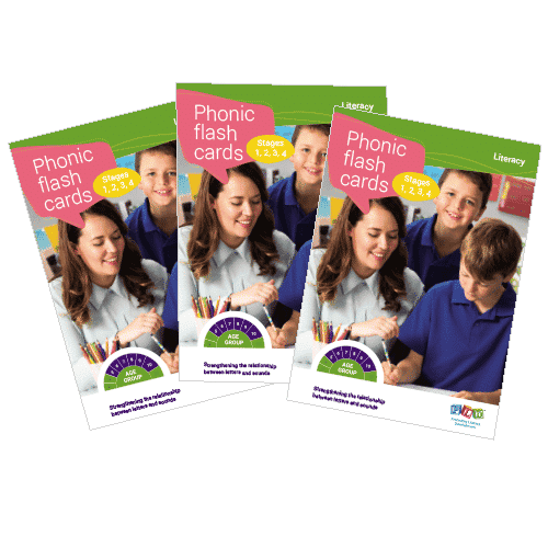 Multi-pack: phonic flash cards