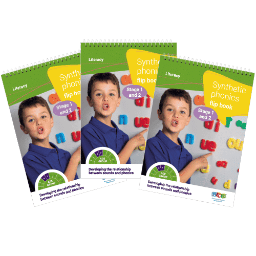 Multi-pack: Synthetic phonics flip books - Stage 1 & 2