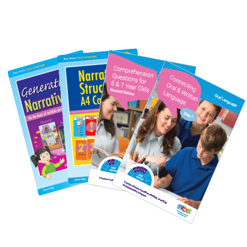 Year 1 & 2 Connecting oral and written language