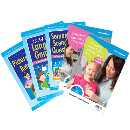 Full set of foundation oral language programs