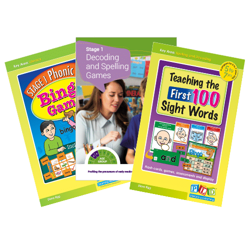 Stage 1 reading games