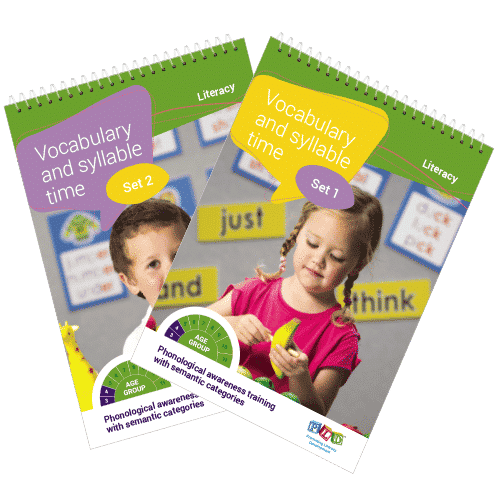 Vocabulary & syllable scripted flip books