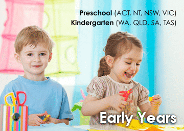 Early Years 3 & 4 year olds