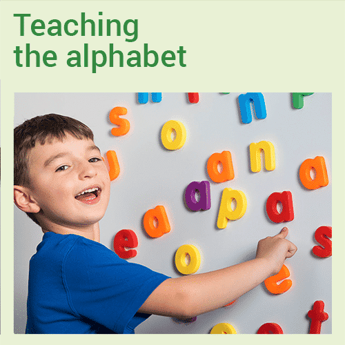 Teaching the alphabet in a manner that supports reading, spelling and writing - online course