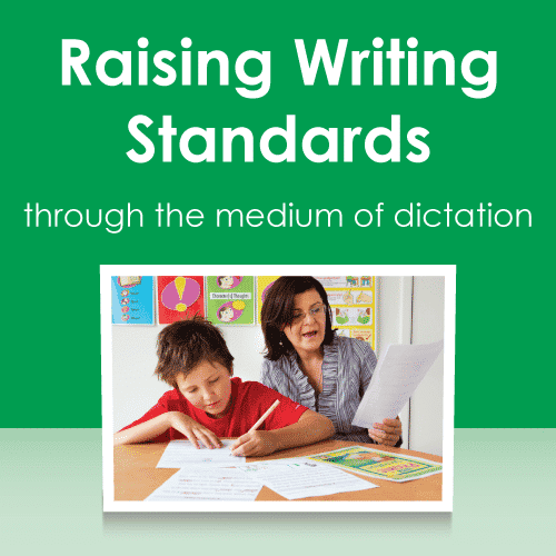 Raising writing standards through the medium of dictation - online course
