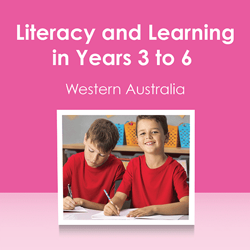 Literacy & Learning in Years 3,4,5 & 6 Seminar Handouts