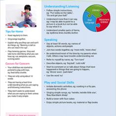 Speech & language development milestones - 2 year old