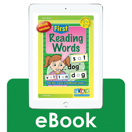 First reading words (eBook)