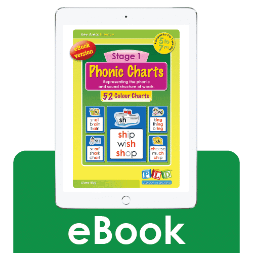 Stage 1 phonic charts (eBook)