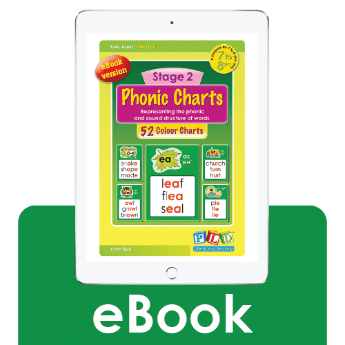 Stage 2 phonic charts (eBook)