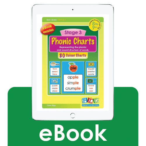 Stage 3 phonic charts (eBook)