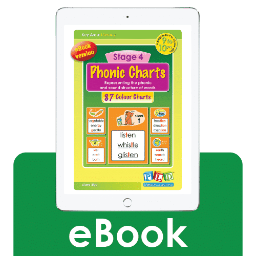 Stage 4 phonic charts (eBook)
