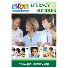 PLD literacy bundles - flyer