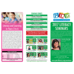 PLD seminars 2017 - flyer