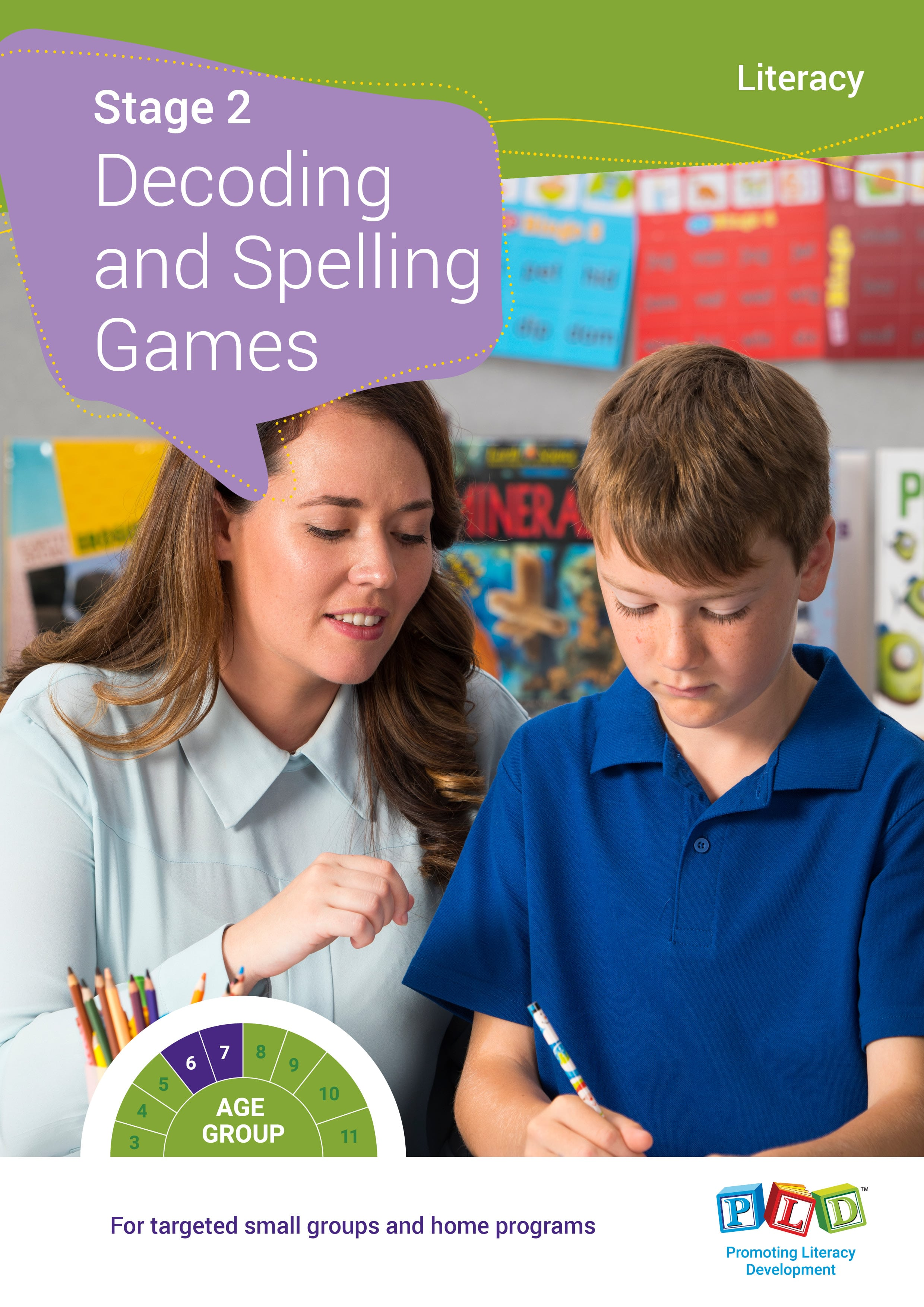 Stage 2 Decoding and Spelling Games