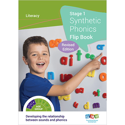 Synthetic Phonics Flip Book - Stage 1