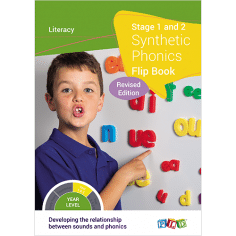 Synthetic Phonics Flip Book - Stage 2, 3 & 4