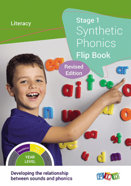 Synthetic Phonics Flip Book Starter Pack