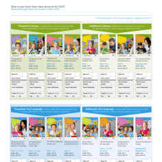 Selected Literacy Resources and Training Year 3, 4, 5 and 6 in 2020