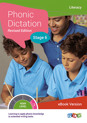 Phonic Dictation - Stage 6