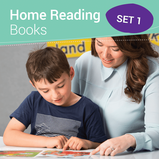 Home Reading Books Set 1 (VC and CVC) - Foundation Semester 1