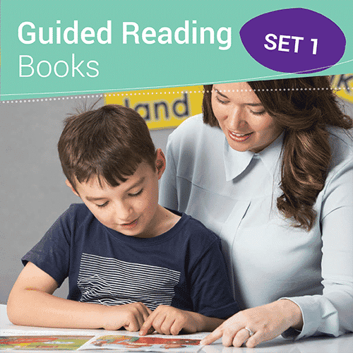 Guided Reading Books Set 1