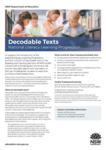 Decodable Readers Boost Early Reading