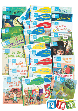 Year 1 – Semester 1 – Storage & Organisation Labels for Decodable Reading Books