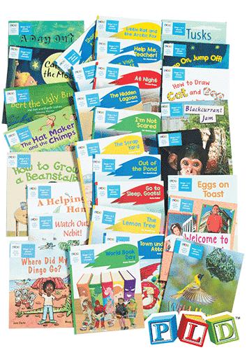 Home Reading Books Set 4 - Year 1 Semester 2