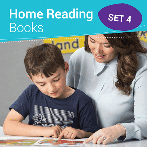 Home Reading Books Set 4