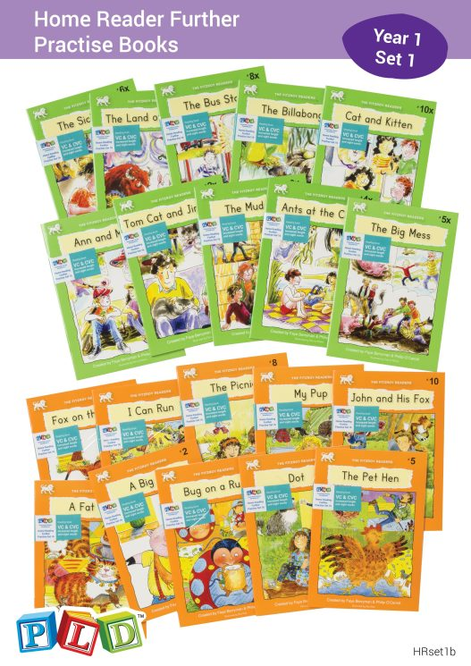 Home Reader Further Practise Set 1 - Year 1
