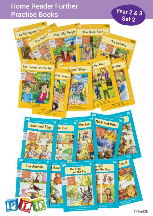 Home Reader Further Practise Set 2 - Year 2 & 3