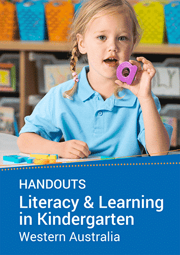 Literacy and Learning in Kindergarten seminar handouts