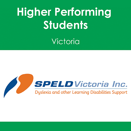 Higher Performing Students, through the implementation of evidence-based literacy instruction. (VIC)