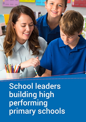 School Leaders: Building High Performing Primary Schools Seminar (WA)
