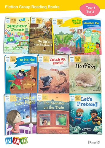 Fiction Group Reading Books Set 3 - Year 1 Semester 1
