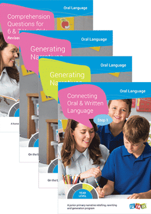 Connecting Oral and Written Language - Step 1