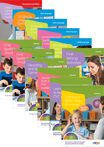 Ultimate Literacy & Oral Language Foundation PLD Starter Pack
