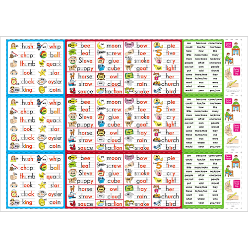 Phonic Desk Strips - Stage 2 (Downloadable)