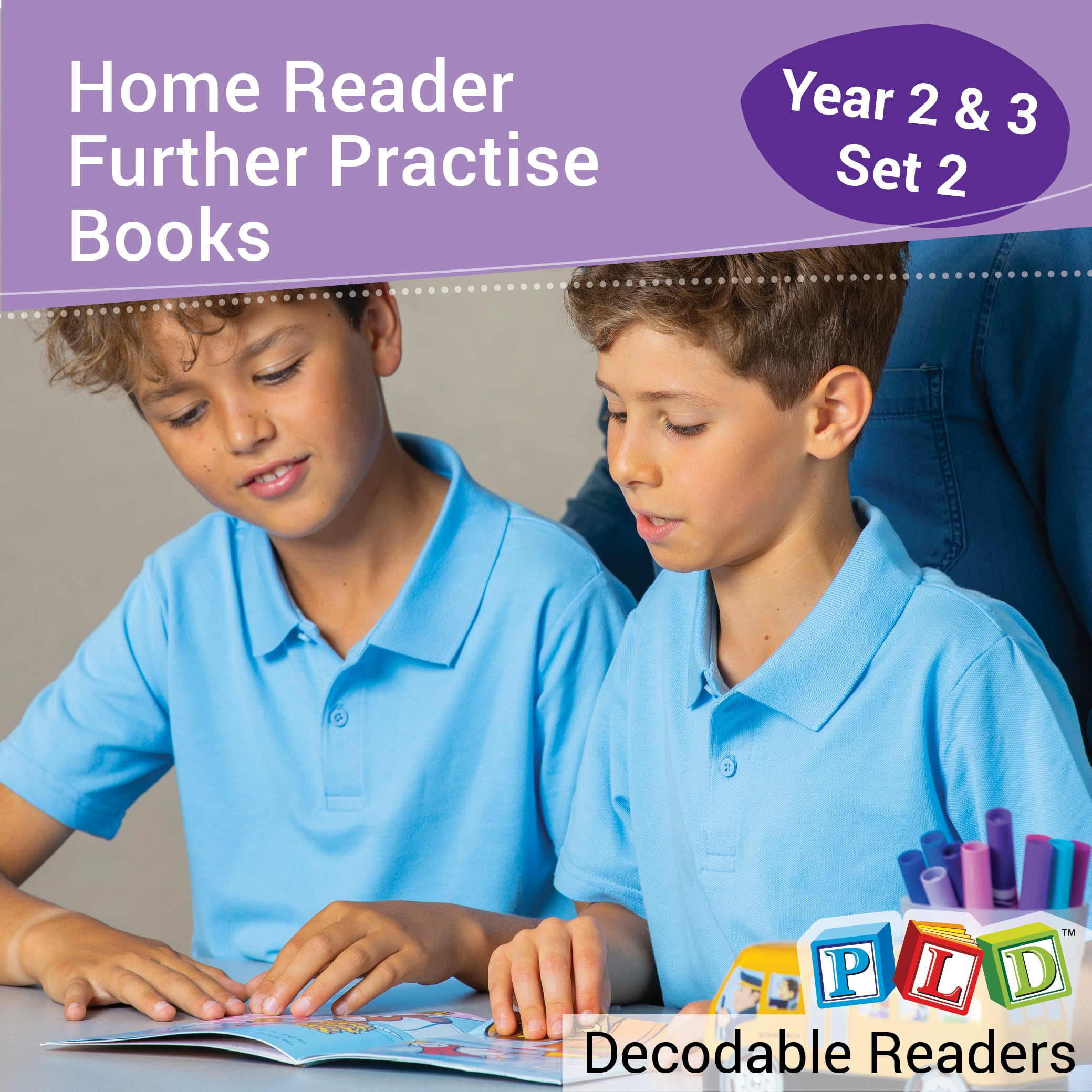 Home Reader Further Practise: Set 2 Year 2 & 3