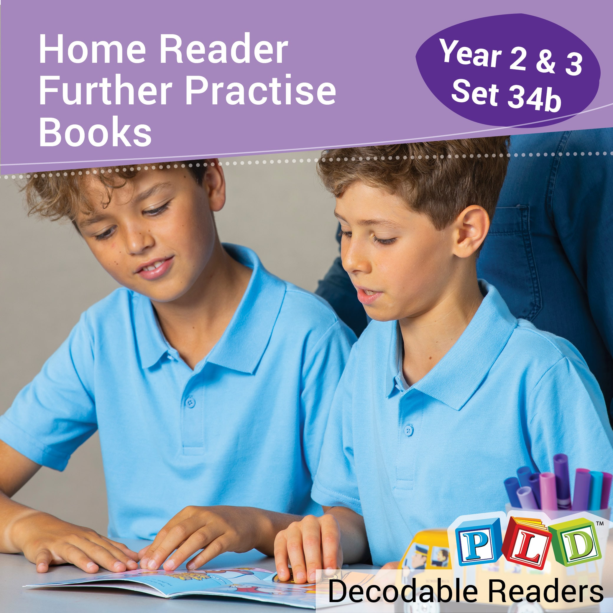 Home Reader Further Practise: Set 3 and 4 Year 2/3