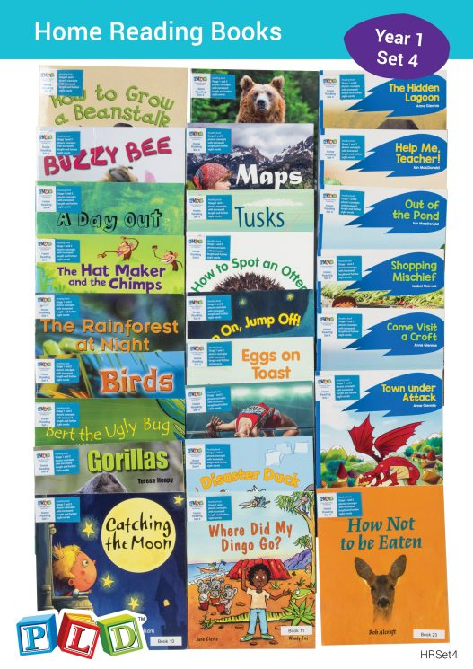Home Reading Books Set 4 - Year 1 Semester 2