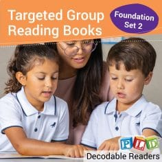 Targeted Group Reading Books Set 1 (VC and CVC) - Foundation Semester 1