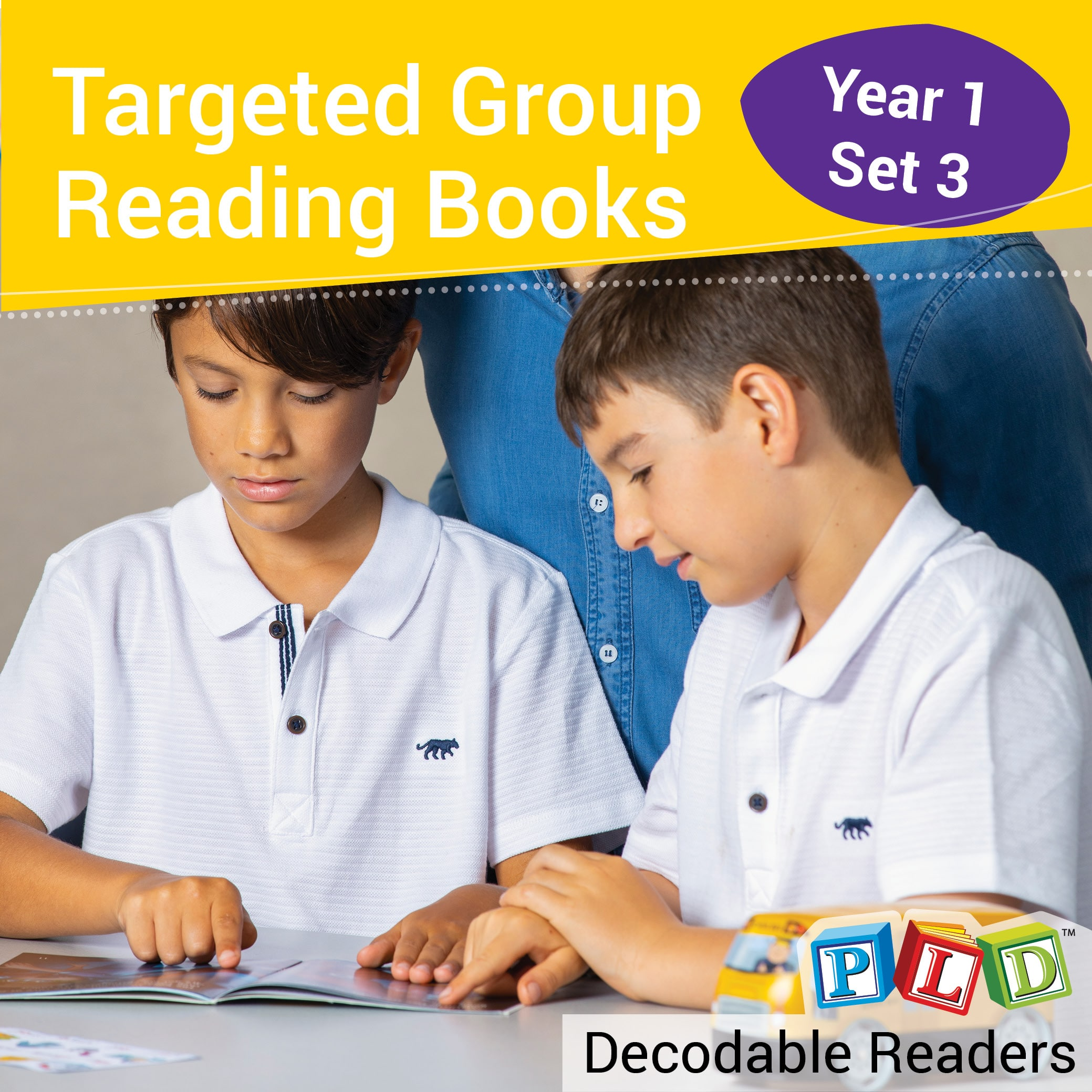 Targeted Group Reading Books Set 3
