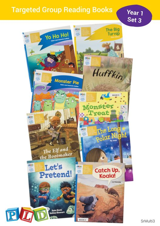 Targeted Group Reading Books Set 3 - Year 1 Semester 1